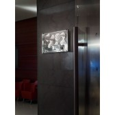 Happy LED Wall Light - 15W, Polished Chrome