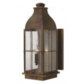 Hinkley Lighting HK/BINGHAM/L Bingham 3 - Light Large Wall Lantern