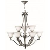 Hinkley Lighting HK/BOLLA9 Bolla 9 - Light Chandelier