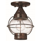 Hinkley Lighting HK/CAPECOD FLUSH Capecod 1 - Light Flush Light Lantern