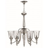 Hinkley Lighting HK/CHANDON6 Chandon 6 - Light Chandelier