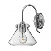 Hinkley HK/CONGRES1/A CM Congress Clear Glass Wall Light