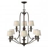 Hinkley HK/DUNHILL9 Dunhill 9-Light Chandelier