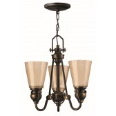 Hinkley Lighting HK/MAYFLOWER3 Mayflower 3 - Light Chandelier