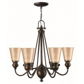 Hinkley Lighting HK/MAYFLOWER6 Mayflower 6 - Light Chandelier