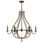Hinkley Lighting HK/MIDDLEFIELD6 Middlefield 6 - Light Chandelier