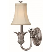 Hinkley Lighting HK/PLANT1 PL Plantation 1 - Light Wall Light Polished Antique Nickel