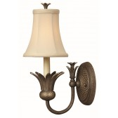 Hinkley Lighting HK/PLANT1 PZ Plantation 1 - Light Wall Light Pearl Bronze