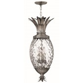 Hinkley Lighting HK/PLANT4/P PL Plantation 4 - Light Pentant Polished Antique Nickel