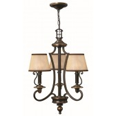 Hinkley Lighting HK/PLYMOUTH3 Plymouth 3 - Light Chandelier