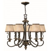 Hinkley Lighting HK/PLYMOUTH6 Plymouth 6 - Light Chandelier