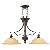 Hinkley Lighting HK/PLYMOUTH/ISLE Plymouth 2 - Light Chandelier
