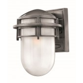 Hinkley Lighting HK/REEF/SM HE Reef Small 1 - Light Lantern Hematite