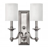 Hinkley HK/SUSSEX2 Sussex 2-Light Wall Light