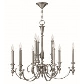 Hinkley Lighting HK/YORKTOWN9 Yorktown 9 - Light Chandelier