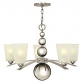 Hinkley Lighting HK/ZELDA5 PN Zelda 5 - Light Chandelier Polished Nickel