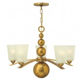 Hinkley Lighting HK/ZELDA5 VS Zelda 5 - Light Chandelier Vintage Brass
