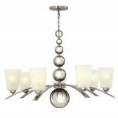 Hinkley Lighting HK/ZELDA7 PN Zelda 7 - Light Chandelier Polished Nickel