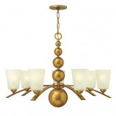 Hinkley Lighting HK/ZELDA7 VS Zelda 7 - Light Chandelier Vintage Brass
