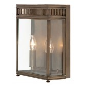 Elstead HL7/M DB Holborn Half Lantern Medium Dark Bronze