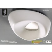 Huevo Ceiling 5 Light Outdoor IP44 White