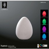 Huevo Egg Table Lamp Induction LED RGB Outdoor IP65