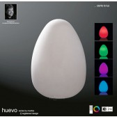 Huevo Large Egg Table Lamp Induction LED RGB Outdoor IP65