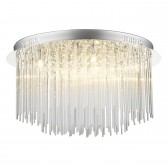 Icicle Ceiling Light - 8 Light Flush