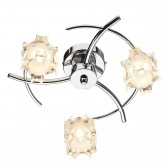Jacob Flush Ceiling Light - 3 Light