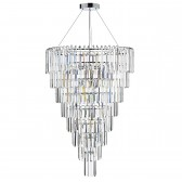 Jupiter 12 Light Pendant Decorative Crystal