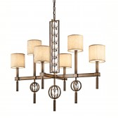 Kichler KL/CELESTIAL6 Celestial 6-Light Rectangular Chandelier
