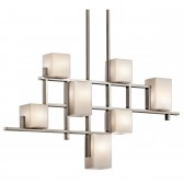 Kichler KL/CITY LIGHTS7B City Lights 7-Light Linear Chandelier