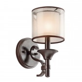 Kichler KL/LACEY1 MB Lacey 1-Light Wall Light