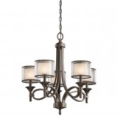 Kichler KL/LACEY5 MB Lacey 5-Light Chandelier