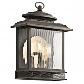 Kichler KL/PETTIFORD/L Pettiford Outdoor Wall 3-Light