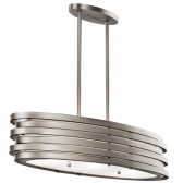 Kichler KL/ROSWELL/ISLE Roswell Oval Island Pendant
