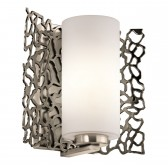 Kichler KL/SILCORAL1 Silver Coral Wall Light