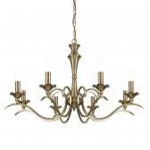 Kora Pendant Light - 8 Light - Antique Brass