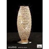 Diyas Kos Table Lamp 3 Light French Gold/Crystal