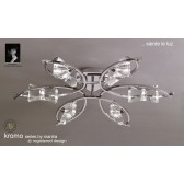 Kromo Ceiling 6 Light Polished Chrome
