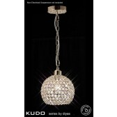 Diyas Kudo Ball Shade French Gold/Crystal