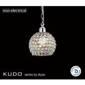 Diyas Kudo Ball Shade Polished Chrome/Crystal