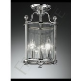 Franklite LA7000/3 Pasillo 3 Light Flushmount Lantern