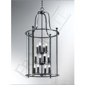 Franklite LA7001/12 Pasillo 12 Light Lantern