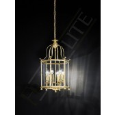 Franklite Montpelier Lantern Light - 6 Light, Polished Brass