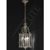 Franklite Montpelier Lantern Light - 3 Light, Bronze