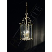 Franklite Montagu Lantern Light - 3 Light, Polished Brass