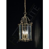 Franklite Montagu Lantern Light - 3 Light, Bronze/Antique Brass