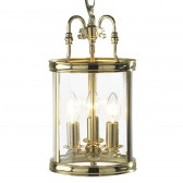 Lambeth Lantern (Dual Mount) - Polished Brass