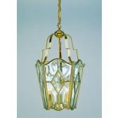 Impex Alicante Lantern Solid Brass - 4 Light